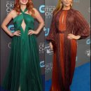 2018 Critic's Choice Awards red carpet dresses
