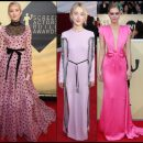 2018 SAG Awards red carpet dresses