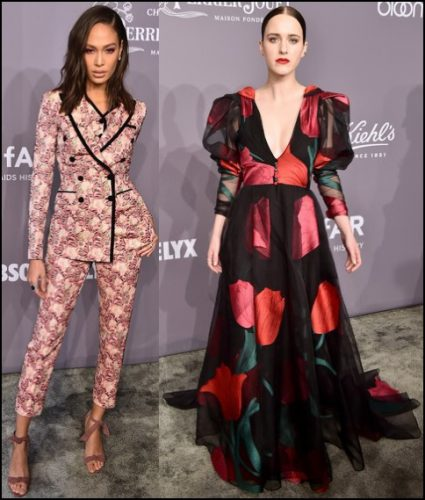 2018-amFAR-red-carpet-fashions-flower-print