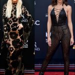2018-BILLBOARD-MUSIC-AWARDS red-carpet-dresses-ashlee-simpson