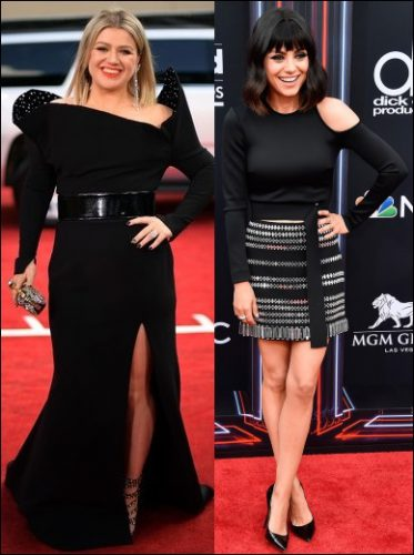 2018-BILLBOARD-MUSIC-AWARDS red-carpet-dresses-kelly-clarkson-mila-kunis