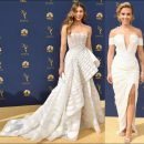 2018 Emmy Awards red carpet dresses