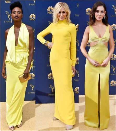 2018-emmy-awards-red-carpet-dresses-YELLOW