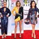 2018 American Music Awards red carpet dresses