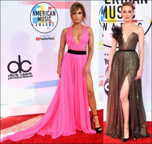 2018-AMERICAN-MUSIC-AWARDS-red-carpet-dresses-jennifer-lopez-amber-heard