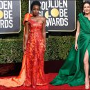 2019 Golden Globe Awards red carpet dresses