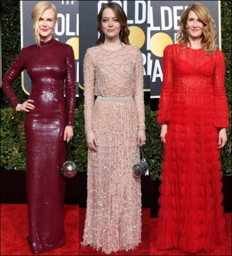 2019-golden-globes-red-carpet-dresses-SLEEVES