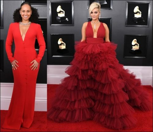 2019-Grammys-red-carpet-dresses-RED