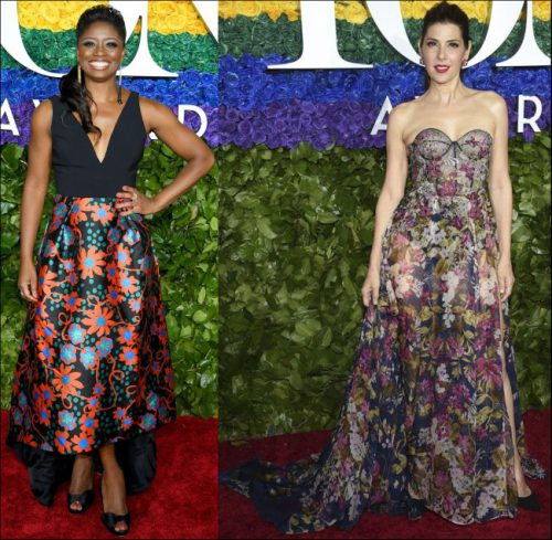 2019-TONY-AWARDS-red-carpet-dresses-FLORAL-PRINT