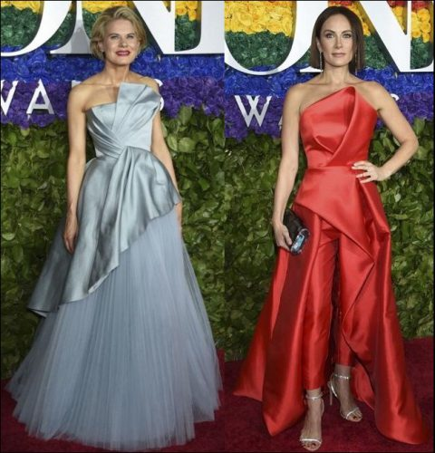 2019-TONY-AWARDS-red-carpet-dresses-STRAPLESS