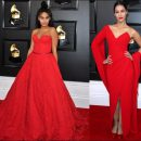 2020 Grammy Awards red carpet dresses