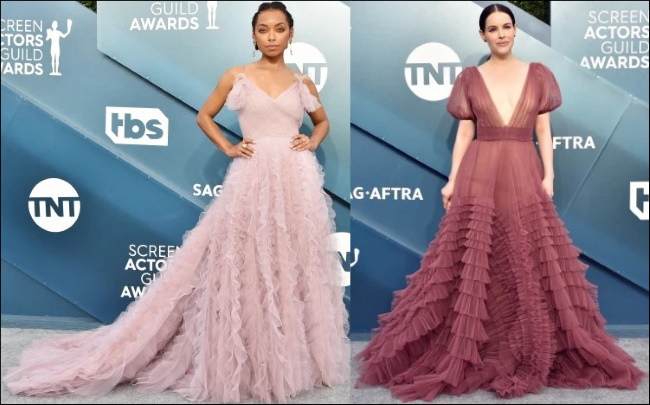 2020 SAG Awards red carpet dresses