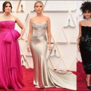 2020 Oscar Awards red carpet dresses